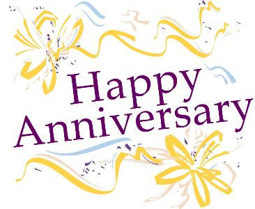 366x300 Happy Anniversary Clip Art Images Graphics Clipartcow