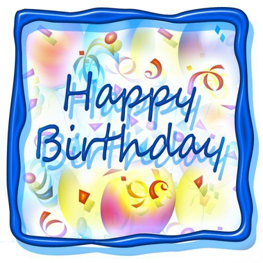520x520 35 Best Birthday Clip Art Images Birthday Cards