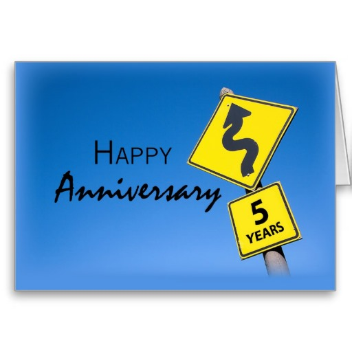 512x512 3923 Employee Anniversary, 5th Year Card Business, Company