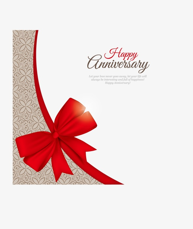 650x770 Vector Happy Anniversary Decoration, Happy Anniversary, Memorial
