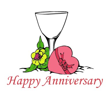 375x318 Free Happy Anniversary Clip Art Pictures