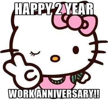 349x327 Happy 2 Year Work Anniversary Funny,year.free Download Funny Cute