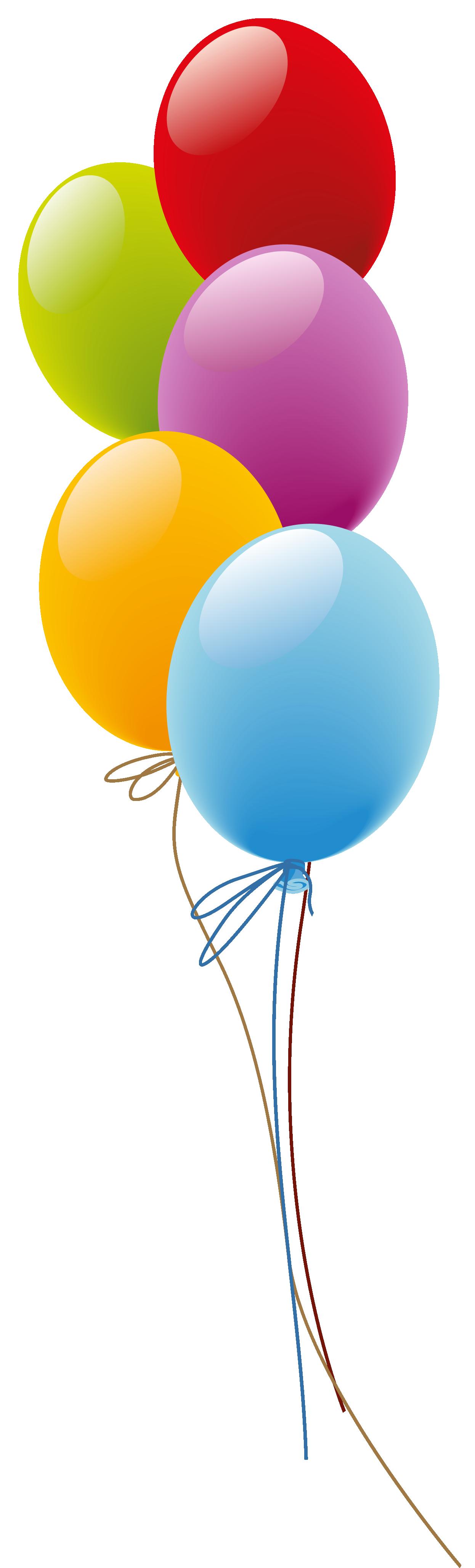 1246x4117 Balloons Png Picture Kunterbunt Birthdays, Happy