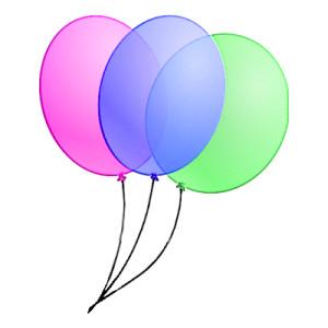 300x300 Clipart Birthday Balloon