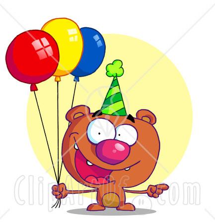 433x450 Funny Clipart Balloon