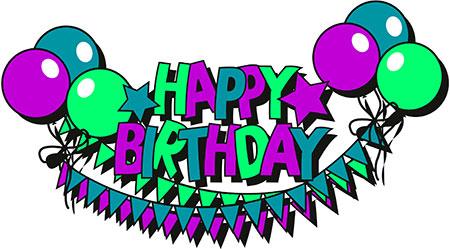 450x249 Sign Clipart Happy Birthday