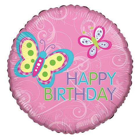 480x480 Happy Birthday Balloon