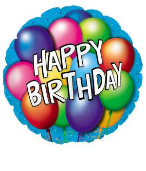 300x350 Happy Birthday Balloons Clipart Clipart Panda