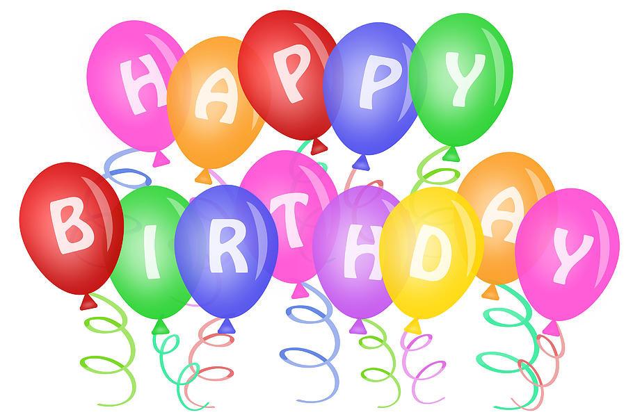 900x600 Happy Birthday Balloons Images Free