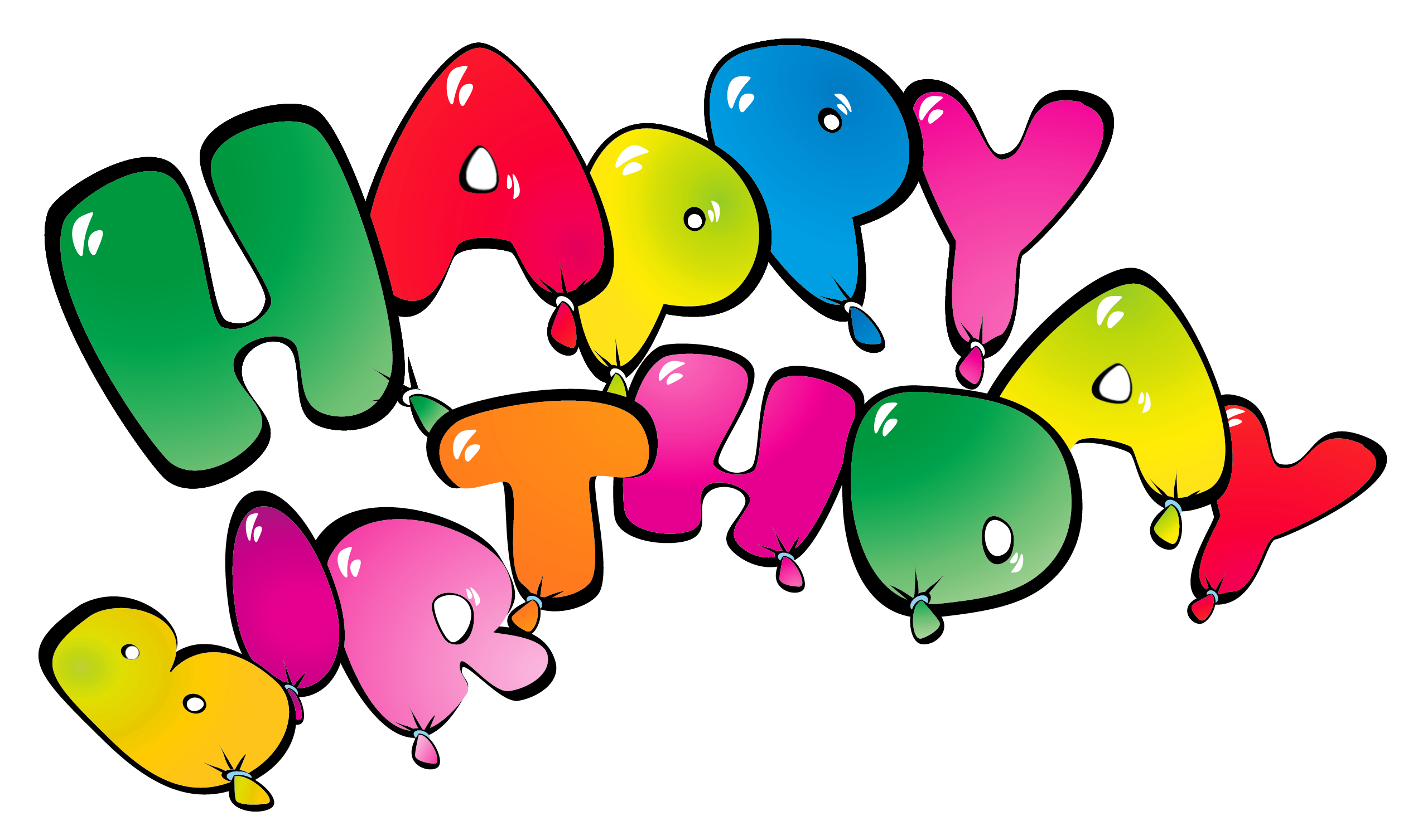 2533x1507 Transparent Happy Birthay Balloons Png Clipart Pictureu200b Gallery