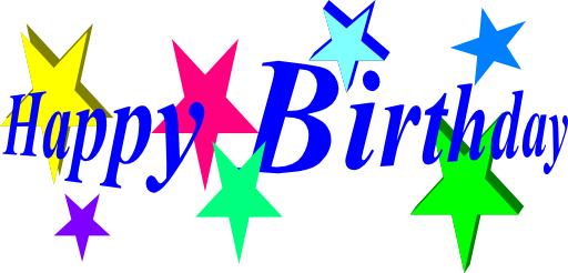 512x246 Free Birthday Happy Birthday Clipart Free Clipart Images Clipartix