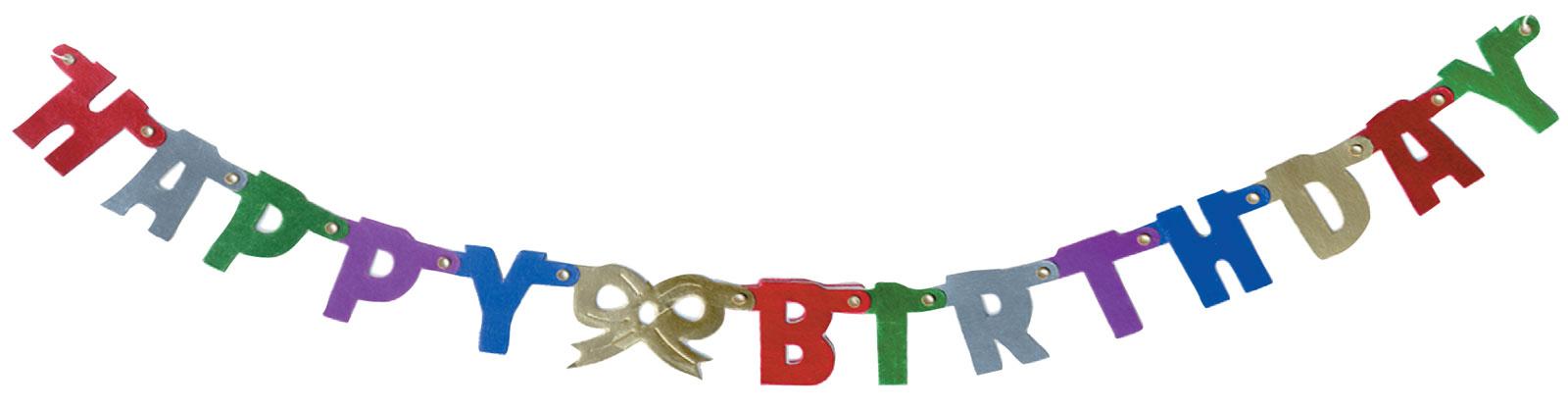1600x418 Happy Birthday Banner Clip Art
