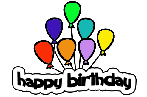 493x328 Happy Birthday Banner Clip Art Free Clipart Images