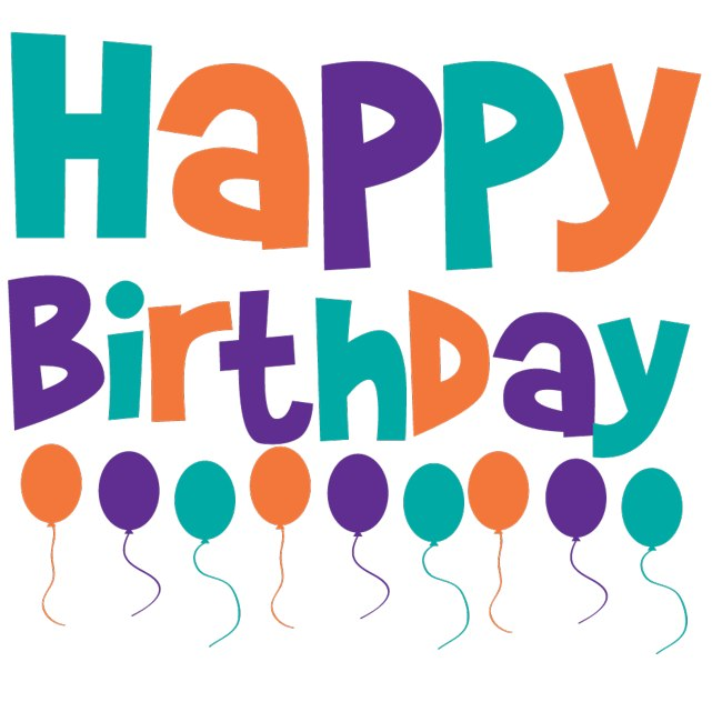 650x650 Happy Birthday Banner Clipart Free Vector Download Free