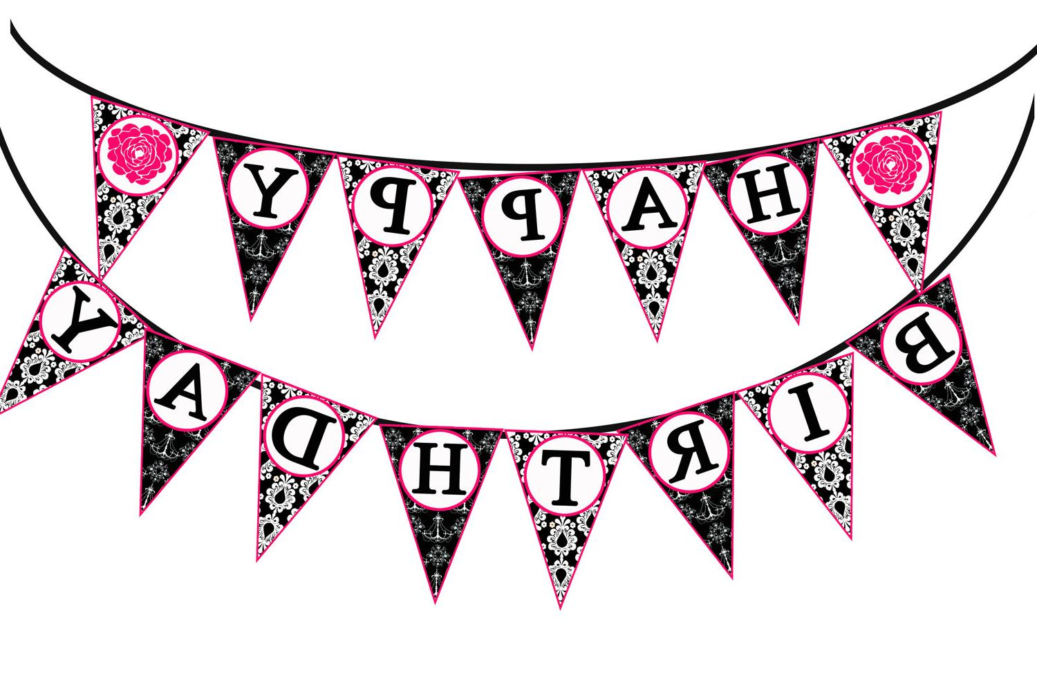 1500x1000 Top 10 Happy Birthday Banner Clipart Drawing