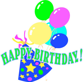 350x347 Birthday Party Clip Art