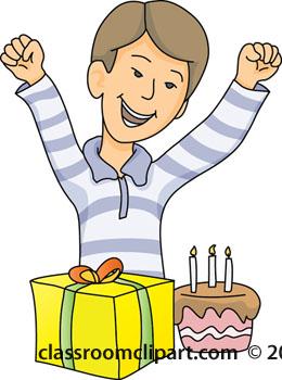 260x350 Birthday Boy Clipart