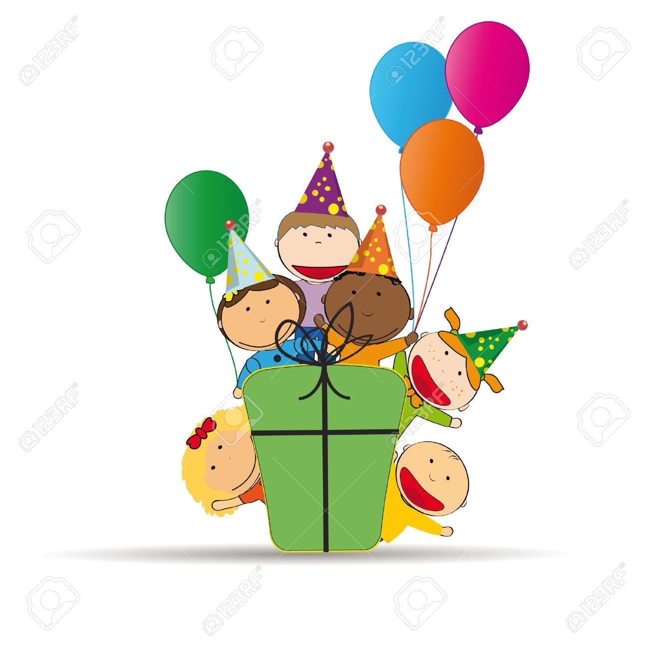 1300x1300 Birthday Clipart Children'S