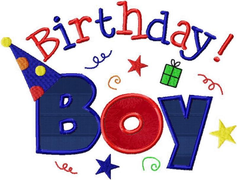 800x608 Happy Birthday Baby Boy Clipart