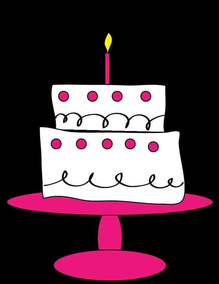 700x908 Happy Birthday Clipart Cake