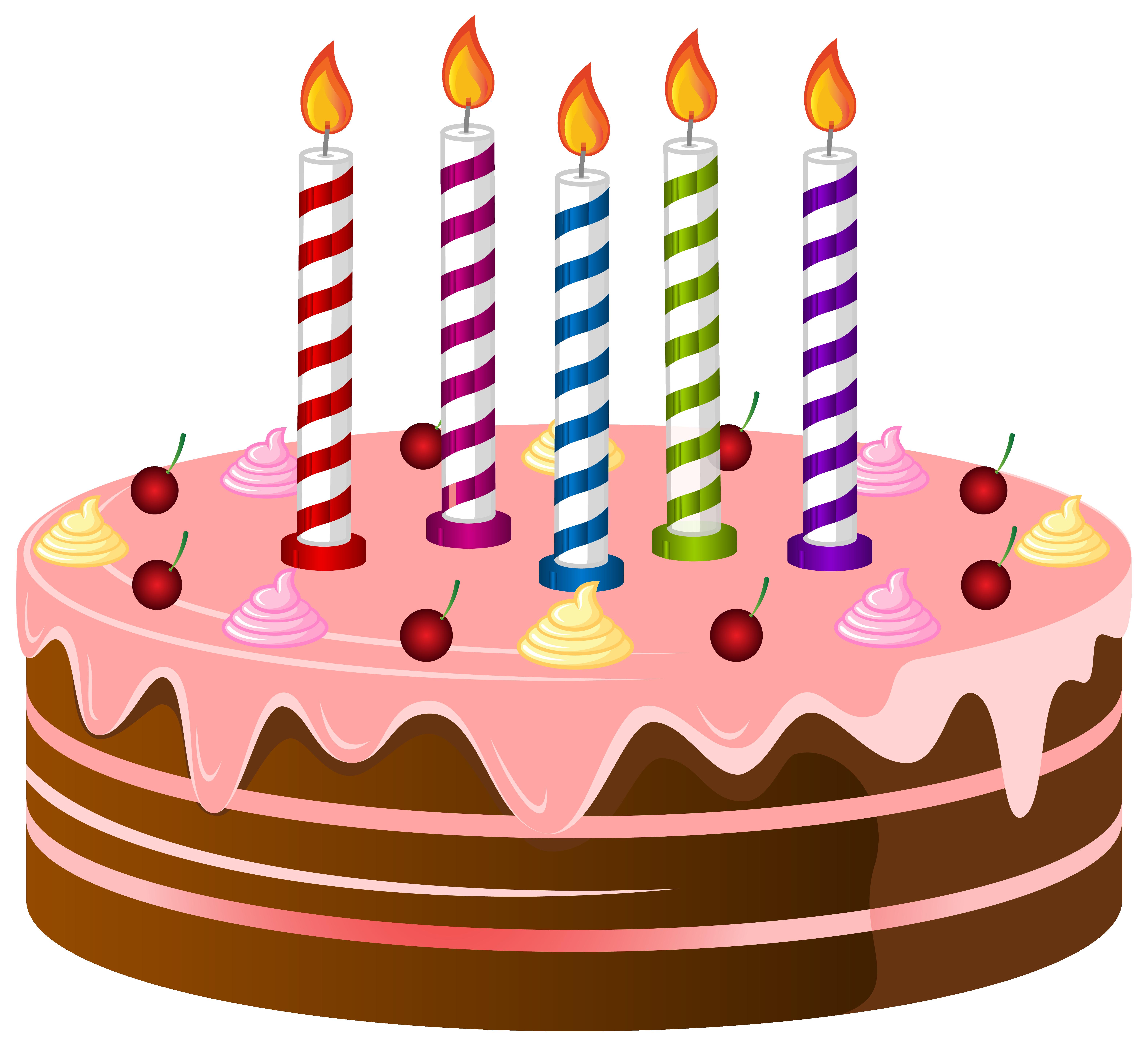 6315x5754 Birthday Cake Clip Art Happy Clipart 2 Image