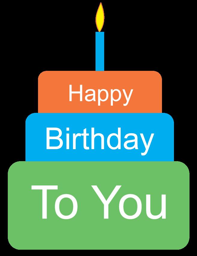 658x853 Happy Birthday Cake Clipart