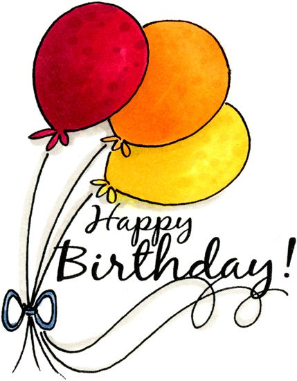 Happy Birthday Cartoon Clipart
