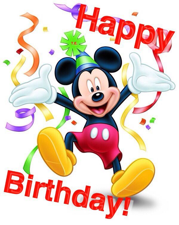 600x752 Best Happy Birthday Mickey Mouse Ideas