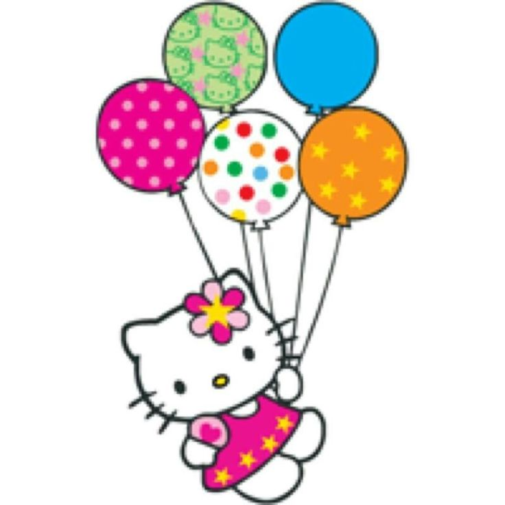 Happy Birthday Cat Clipart