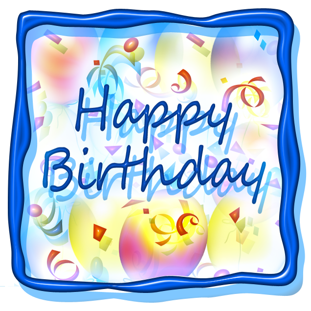 636x636 Clip Art Happy Birthday 32 Clipart
