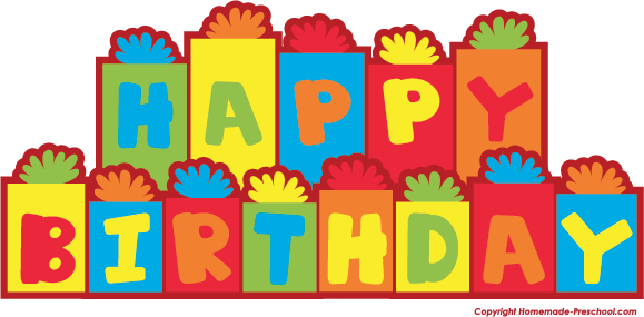 579x285 Free Happy Birthday Clipart