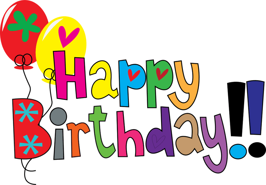 900x626 Happy Birthday Clipart Clipartfest 4