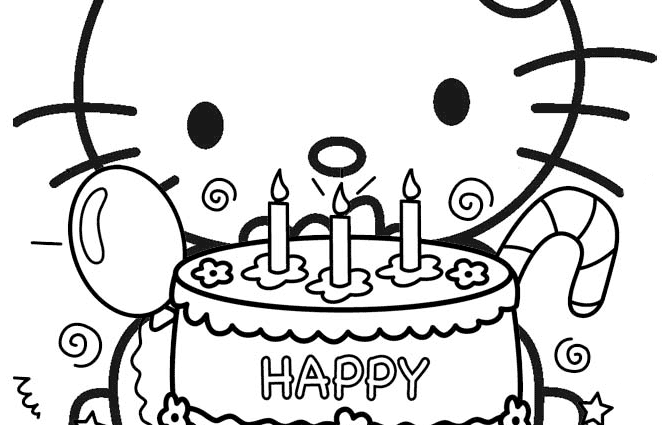 It's just an image of Printable Birthday Coloring Pages with regard to 25th birthday