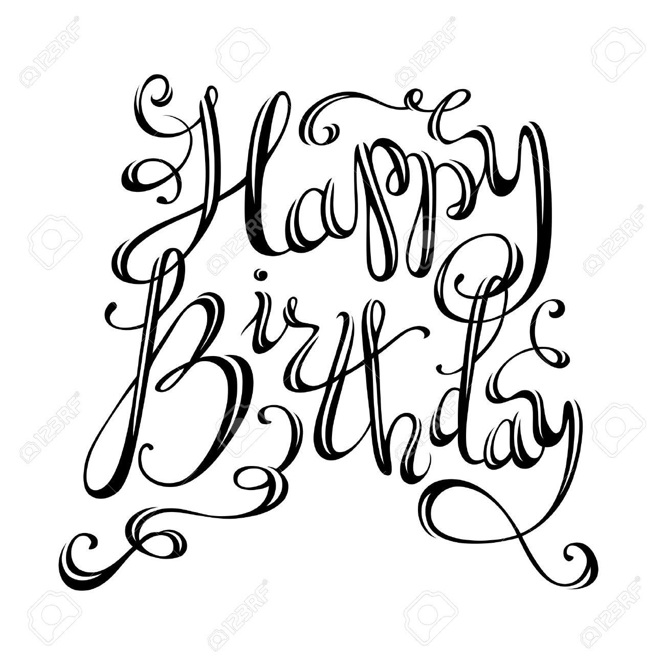 Black Happy Birthday Cards Roho 4senses Co