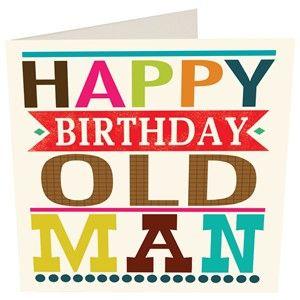 300x300 Happy Birthday Old Man Clipart