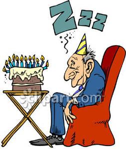 253x300 Happy Birthday Old Man Clipart
