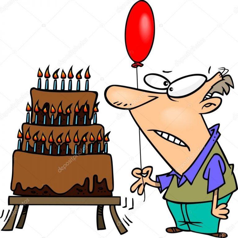 768x768 Inspirational Happy Birthday Old Man Cartoon Zware