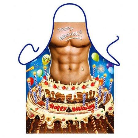 450x450 Sexy Happy Birthday Man Itati Kitchen Apron Novelty Present Gag