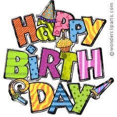 236x236 Happy Birthday Clipart For Men