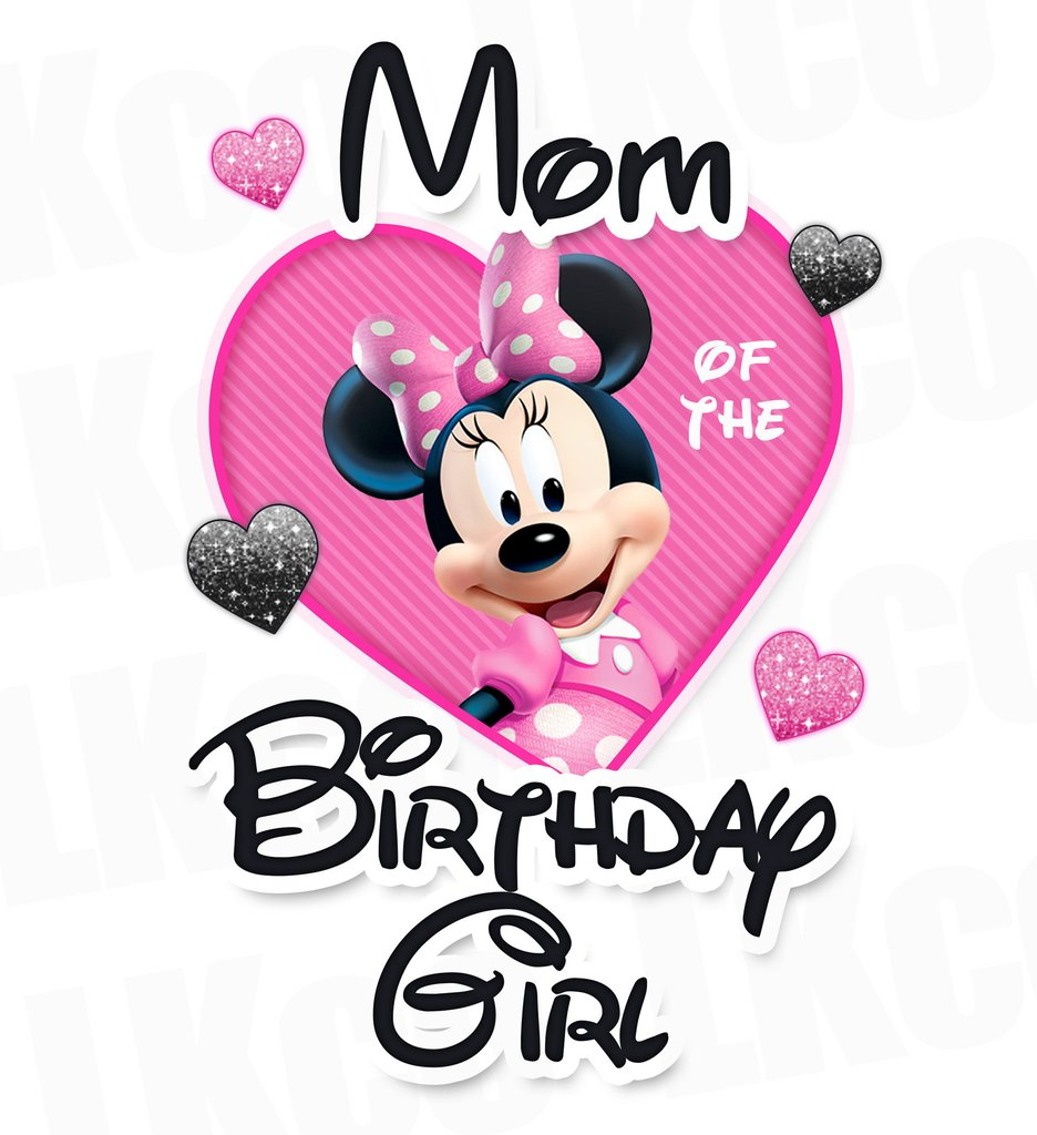 ea7969f2 936x1024 Minnie Mouse Iron On Transfer Mom Or Dad Of The Birthday Girl