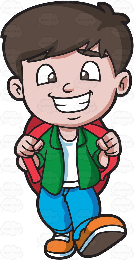 Happy Boy Clipart
