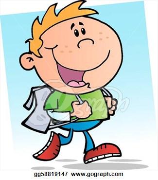 325x370 Clip Art Happy Boy Clipart