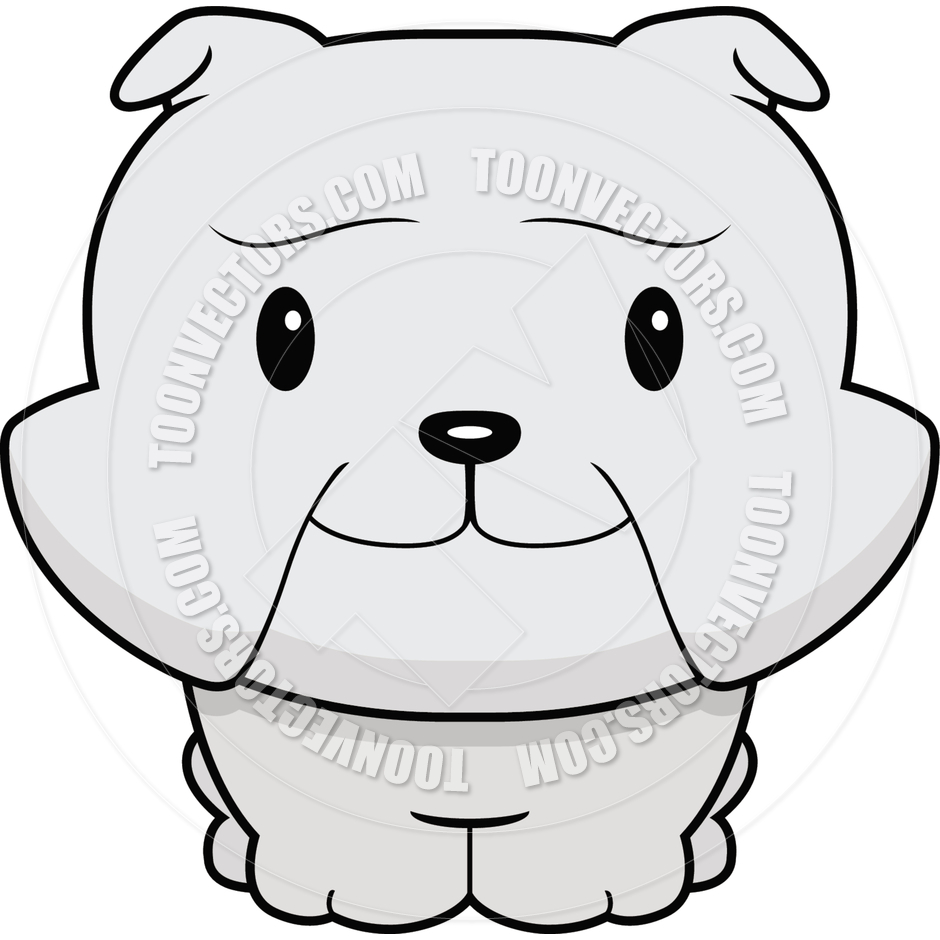 940x940 Cute Baby Bulldog By Cory Thoman Toon Vectors Eps