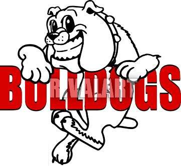 361x332 Bulldog Clipart Friendly