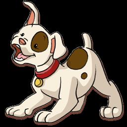256x256 Clipart Puppy