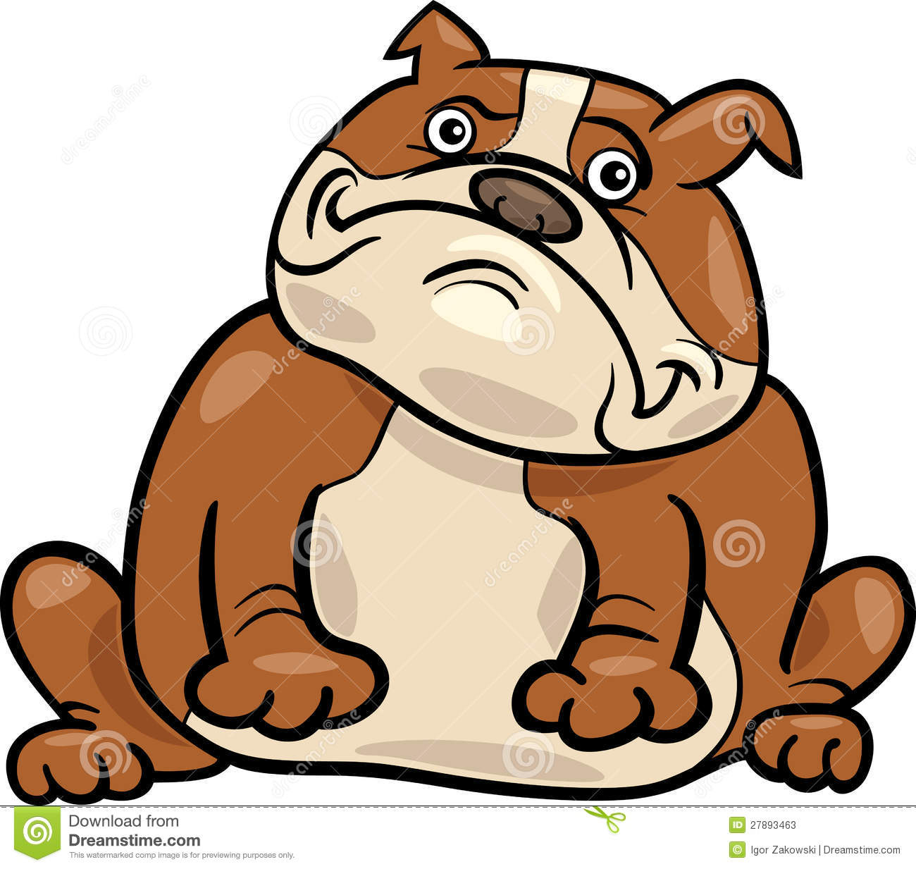 1300x1233 English Bulldog Clipart Easy Dog