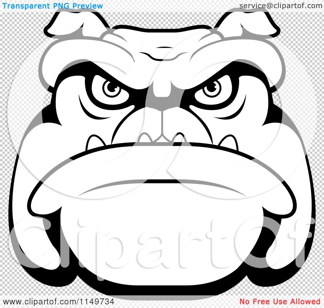 1080x1024 Happy Bulldog Face Vector