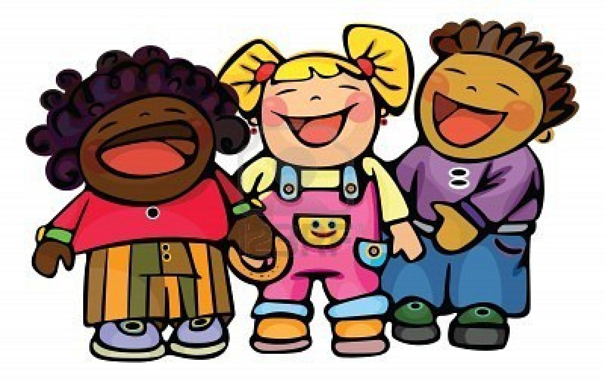 1200x756 Clipart Happy Children