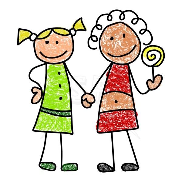 600x600 Free Child Clipart