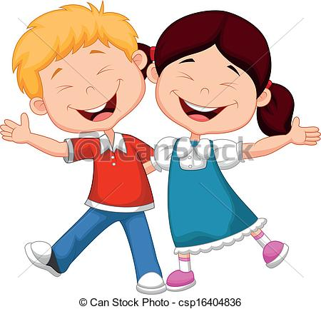 450x433 Happy Child Clipart